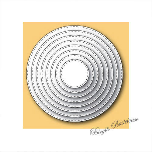 Memory Box Stanzschablone Stitched Circle Layers 30036