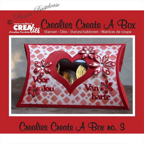 Crealies Stanzschablone Create a Pillow Box CCAB03