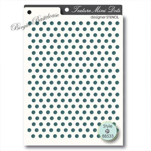 Memory Box Stencil Mini Dots Punkte 88533