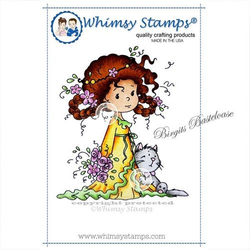 Whimsy Stamps Rose and Felix SZWS112