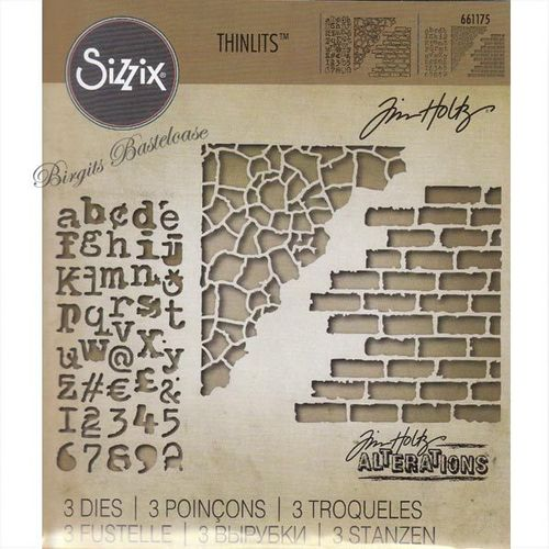 Sizzix Stanzschablonen Thinlits Mixed Media 661175 Tim Holtz