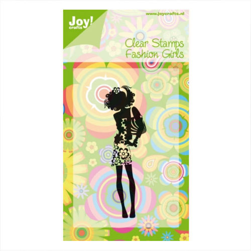 JoyCrafts Clear Stamps Fashion Girls 6410/0088