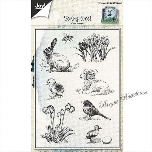 JoyCrafts Clear Stamps Spring time, Ostern 6410/0441