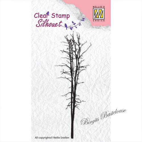 Nellie's Clear Stamp Baum - Tree 3 SIL009