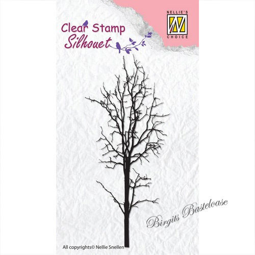 Nellie's Clear Stamp Baum - Tree 1 SIL007