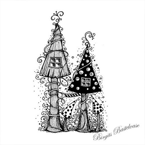 Lavinia Stamps Fairy House - LAV030