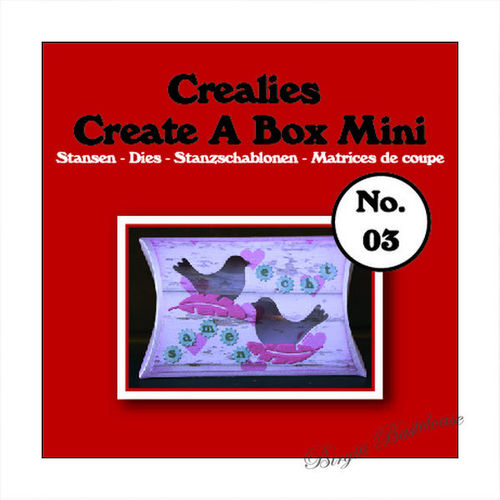 Crealies Stanzschablone Create a Mini Pillow Box CCABM03