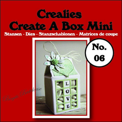 Crealies Stanzschablone Create a Box Mini Milchkarton CCABM06