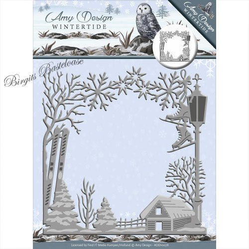 Amy Design Stanzschablone Wintertide Frame ADD10078