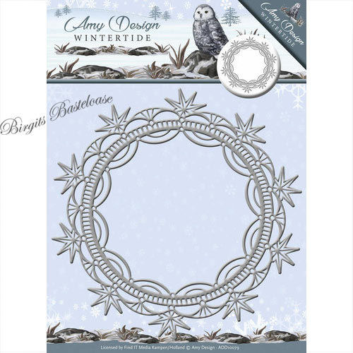 Amy Design Stanzschablone Wintertide Ice Crystal Frame ADD10079