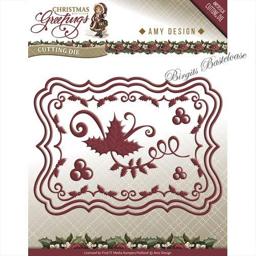 Amy Design Stanzschablone Christmas Card Set ADD10066