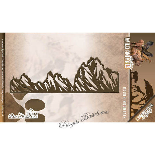 Amy Design Stanzschablone Berge Rough Mountains ADD10106