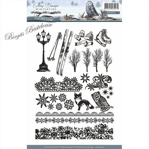 Amy Design Clear Stamps Wintertide ADCS10011