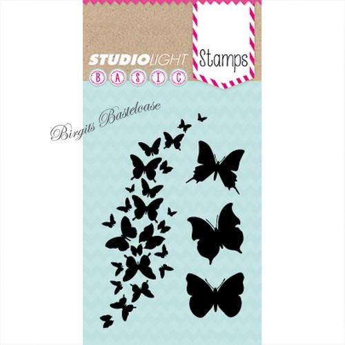 Studiolight Clear Stamps Basic nr 202 Schmetterlinge STAMPSL202