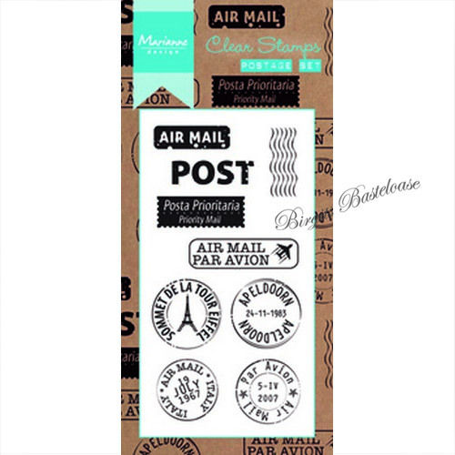 Marianne Design Clear Stamps Postage set CS0995
