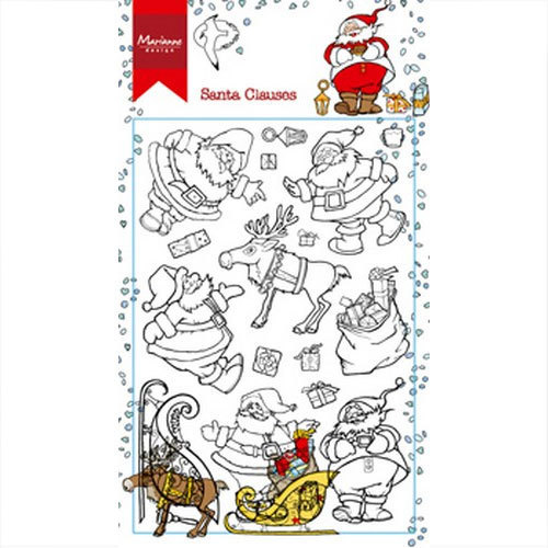 RS014963 Unmontiert /'Weihnachtshund/' Stempel