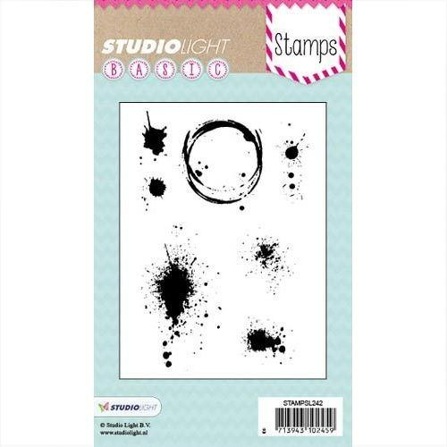 Studiolight Clear Stamps Basic nr 242 Flecken STAMPSL242