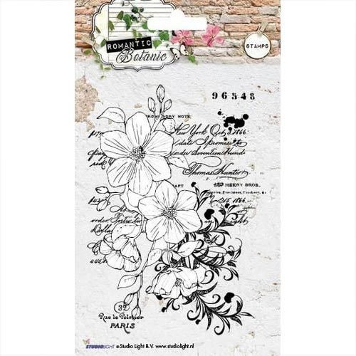 Studiolight Clear Stamps Romantic Botanic nr 220 STAMPRB220