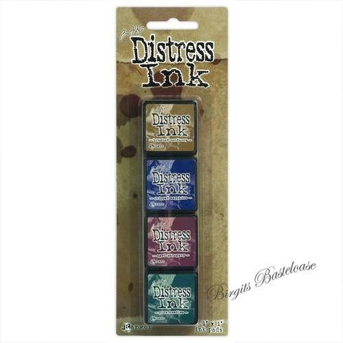 Distress Ink Stempelkissen Mini Kit 12 Ranger TDPK40422