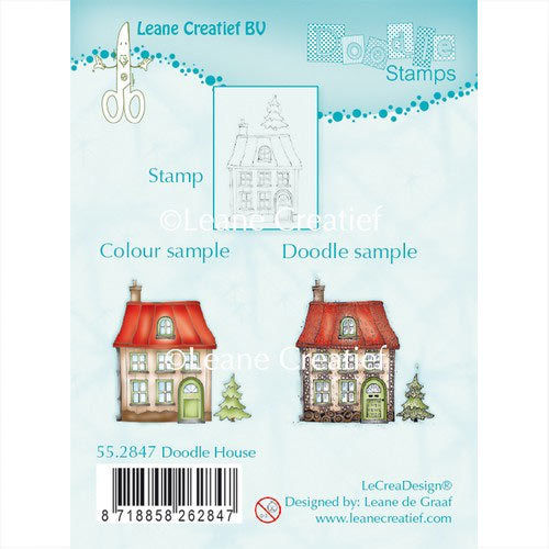 Leane Creatief Clear Stamps Haus Tanne 55.2847