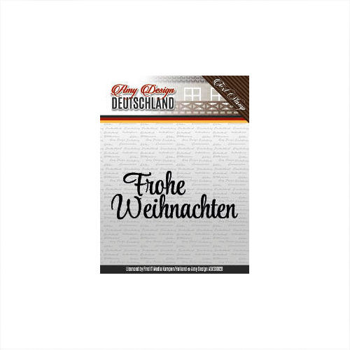 Amy Design Clear Stamps Frohe Weihnachten ADCS10028