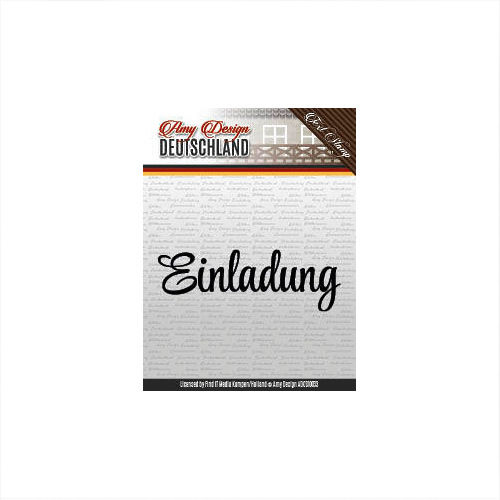 Amy Design Clear Stamps Einladung ADCS10033