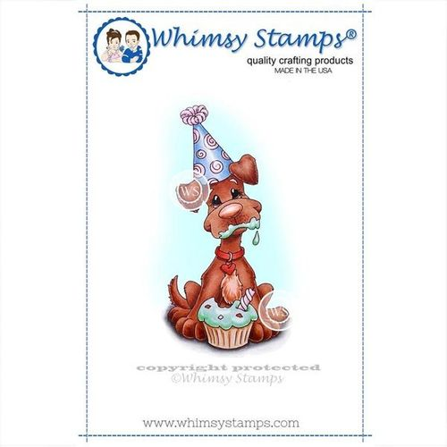 Whimsy Stamps Cupcake Bliss C1037