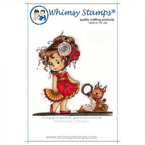 Whimsy Stamps Loli's Dance SZWS205