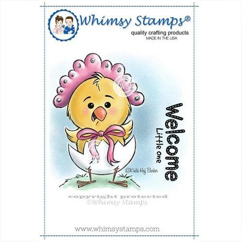 Whimsy Stamps Küken - Little One KHB114