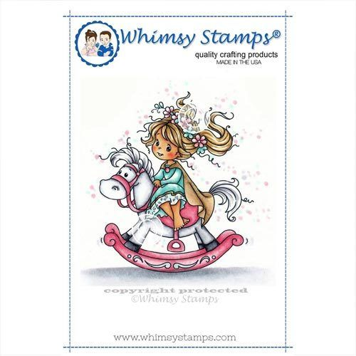 Whimsy Stamps Princess SZWS197