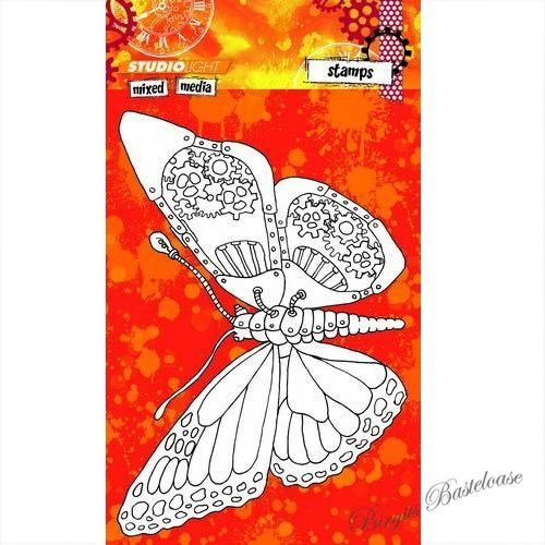 Studiolight Clear Stamps Mixed Media nr 246 Schmetterling