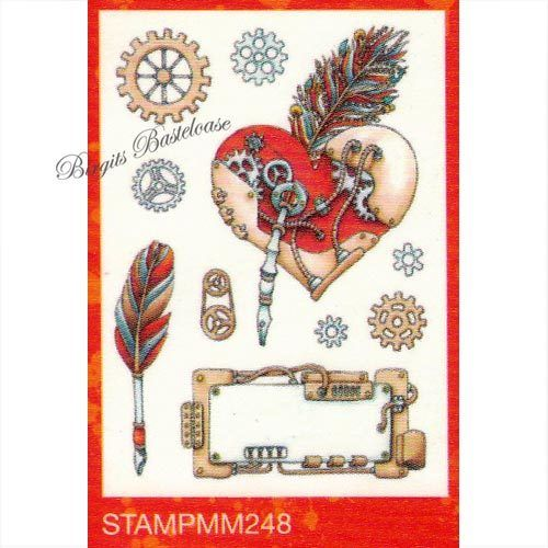 Studiolight Clear Stamps A5 Mixed Media nr 248