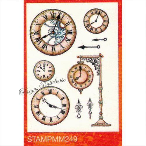 Studiolight Clear Stamps A5 Mixed Media nr 249