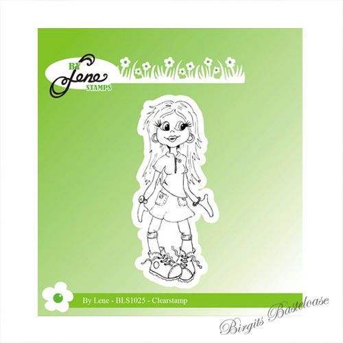 By Lene Clear Stamp Girl 1 - BLS1025