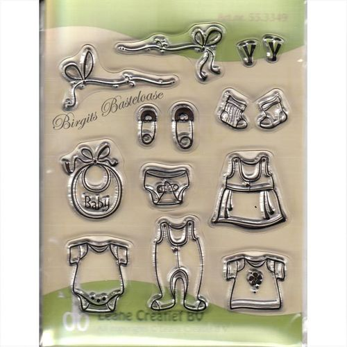 Leane Creatief Clear Stamps Baby Dinge 55.3349