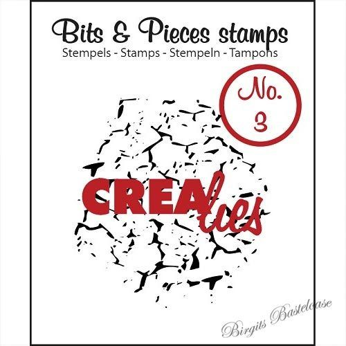 Crealies Clear Stamp Bits&Pieces no. 03 Crackle CLBP03