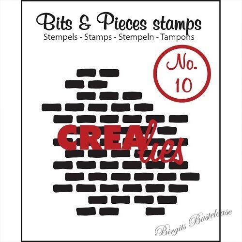 Crealies Clear Stamp Bits&Pieces no. 10 Stones CLBP10