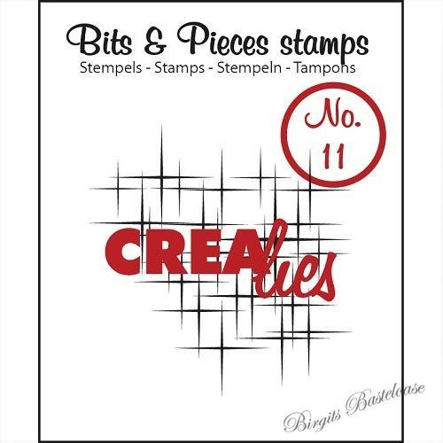 Crealies Clear Stamp Bits&Pieces no. 11 Sparkle CLBP11