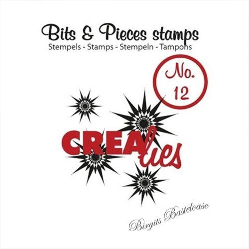 Crealies Clear Stamp Bits&Pieces no. 12 Stars CLBP12