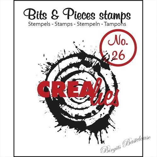Crealies Clear Stamp Bits&Pieces no. 26 Splash CLBP26