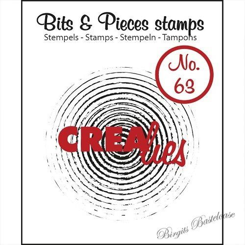 Crealies Clear Stamp Bits&Pieces no. 63 CLBP63