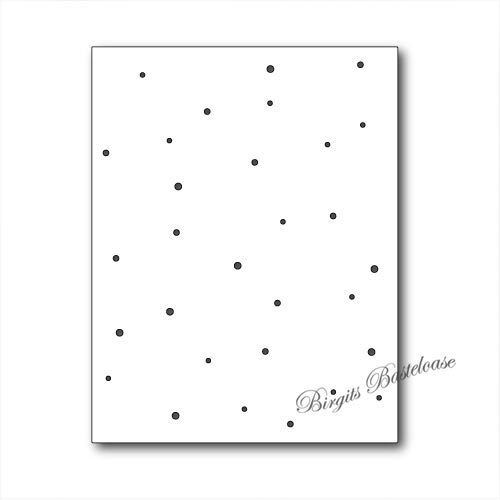 Memory Box Stanzschablone Speckled Background 99473