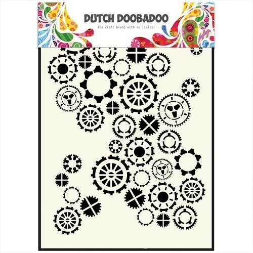 Dutch Doobadoo Mask Art stencil Getriebe A5 470.154.001