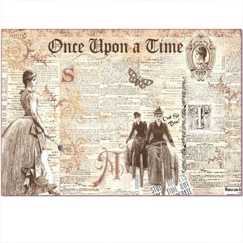 Stamperia Decoupage Rice Paper A3 Once upon a Time DFS301