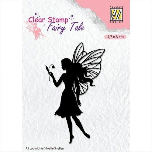 Nellie's Clear Stamp Elfe - Silhouette Fairy Tale FTCS007