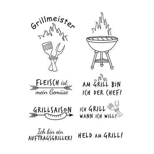 Efco Clear Stamps Grillmeister 4511185