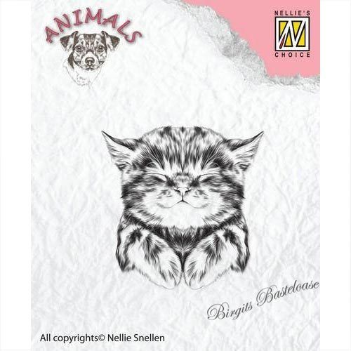 Nellie's Clear Stamp Katze ANI017