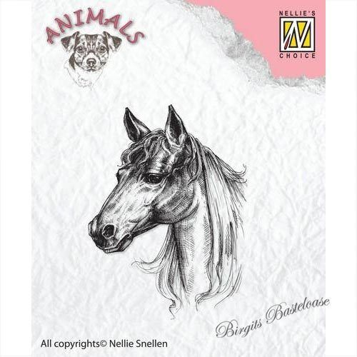 Nellie's Clear Stamp Pferd ANI018