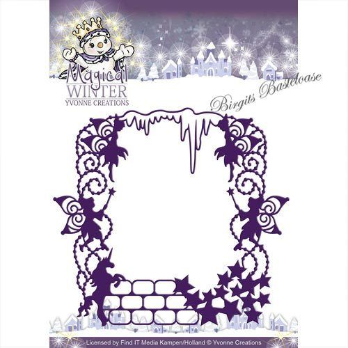 Yvonne Creations Stanzschablone Magical Frame YCD10041