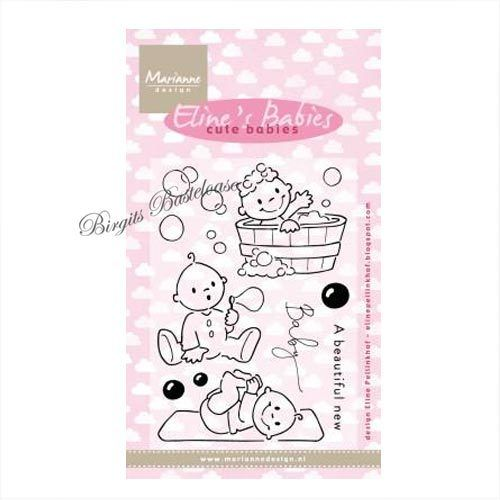 Marianne Design Clear Stamps Eline's Babies EC0176 Baby